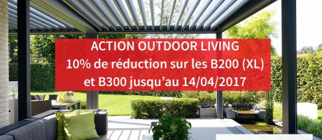 Promotion pergola bioclimatique