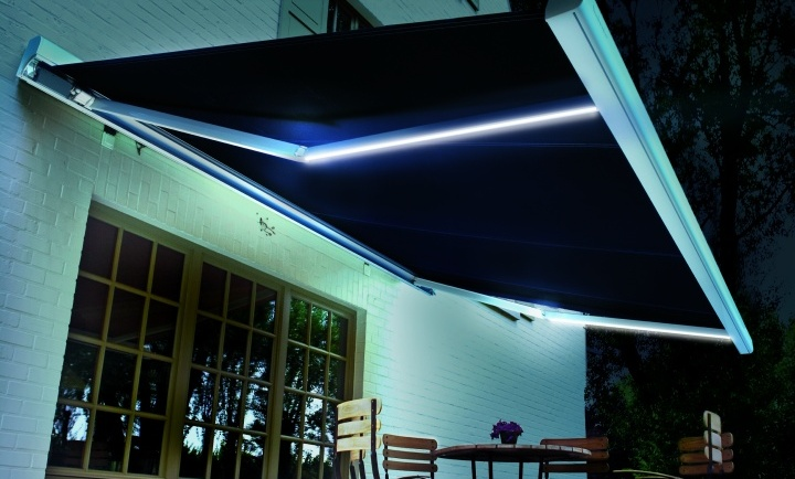 Eclairage de terrasse somfy rts art lumi re for Eclairage led terrasse